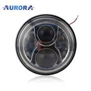 Фара светодиодная Aurora ALO-M1 черная, 169mm