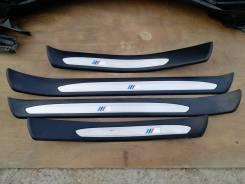 Накладка на порог. BMW 5-Series, E60, E61