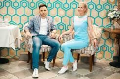 Дуэт ведущих - Ольга и Андрей
