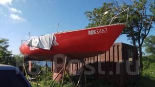 Парусная яхта, обмен авто мото. Длина 7,62м., 1983 год
