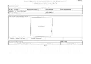 Земельный участок 1 ГА. 10 000кв.м., собственность. План (чертёж, схема) участка