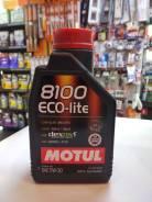 Motul 8100 Eco-Lite. 5W-30, синтетическое, 1,00л.