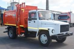 Коммаш КО-440-2. Мусоровоз с боковой загрузкой КО-440-2 на шасси ГАЗ-33098, 4 430куб. см.