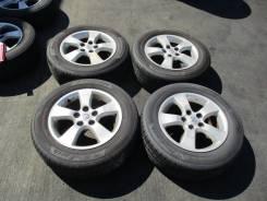 "Комплект летних колёс на литье 215 60 16 Б/П по РФ ZX-56. 6.5x16"" 5x114.30 ET50 ЦО 60,0мм."