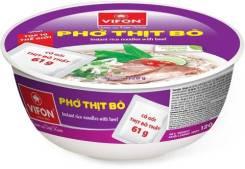 Вьетнамская лапша-суп Фо Бо, Vifon, c говядиной, 120 гр.