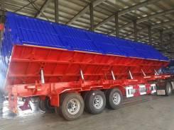 Cimc. Самосвальный полуприцеп с боковой разгрузкой Углевоз 60 тонн, 60 000кг.