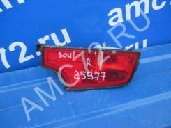 Отражатель в бампер задний правый Kia Soul с 2009-2014