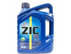 ZIC X5. 10W-40, полусинтетическое, 4,00л.
