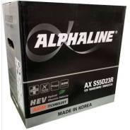 Alphaline. 60А.ч., Прямая (правое), производство Япония