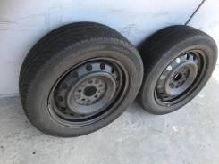 Пара колёс Dunlop 195/60R15 5*114