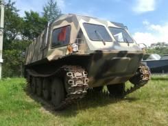 Кузполимермаш АЦТ-8-МУ. Продам вездеход, 4 200куб. см.