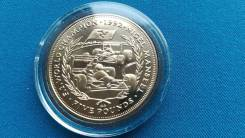 Остров Мэн 5 фунтов 1993 г.