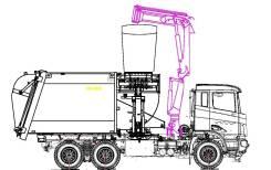 Экомтех. Продам мусоровоз на шасси FAW 6х4, 8 600куб. см.
