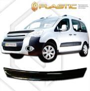 Дефлектор капота Peugeot Partner Tepee 2009-н. в. (Мухобойка)