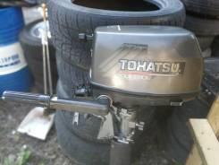 Tohatsu. 6,00л.с., 4-тактный, бензиновый, нога S (381 мм), 2002 год