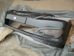 Бампер передний новый (серый мет. / SAE) Hyundai Solaris 14-17г