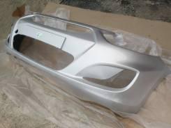 Бампер передний новый (cеребристый / RHM) Hyundai Solaris 11-14г