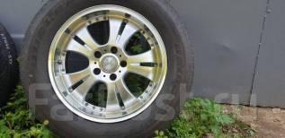 """Летние колеса Bridgestone Dueler H/L 225/65/17 c WEDS Farmas 5x114,3. 7.0x17"""" 5x114.30 ET38 ЦО 73,1мм."""