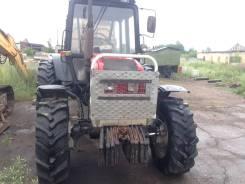 Пл9, 2017. Трактор с лесовозной телегой и манипулятором