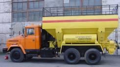 Краз. Смесительно-зарядная машина МЗ-3б на базе автомобиля , 13 000кг., 6x4