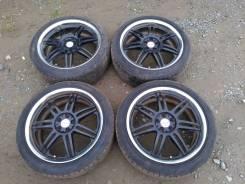 "Кованые диски R18 WORK Varianza на лете Bridgestone Playz RX 215/45R18. 7.5x18"" 5x100.00 ET48 ЦО 60,0мм."