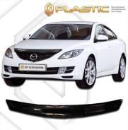 Дефлектор капота Mazda 6, Atenza GH 2007-2012 (Мухобойка)