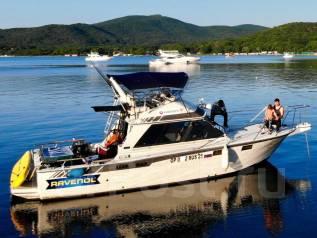 Аренда катера 30 футов . Рыбалка, отдых на островах, экскурсии. 10 человек, 45км/ч