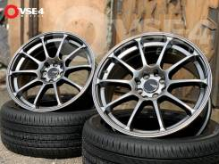"Advan Racing RS. 8.0x17"", 4x100.00, 4x114.30, ET40, ЦО 73,1 мм."
