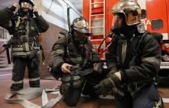 Пожарный. 30 пожарно- спасательная часть г. Хабаровска. Улица Узловая 13