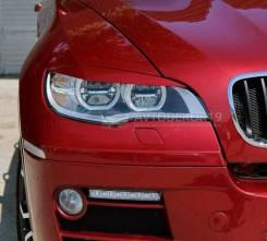 Накладка на фару. BMW X6, E71, E72 M57D30TU2, N55B30, N57D30OL, N57D30TOP, N57S, N63B44, S63B44, N54B30, S63B44TX