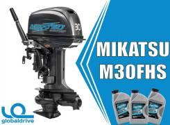Mikatsu. 30,00л.с., 2-тактный, бензиновый, нога S (381 мм), 2019 год. Под заказ