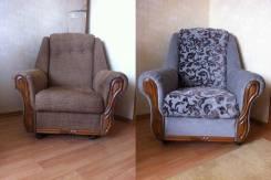 Ремонт и перетяжка мягкой мебели на дому
