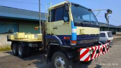 Nissan Diesel. 6WD лесовоз сортиментовоз, 17 000куб. см., 20 000кг., 6x6