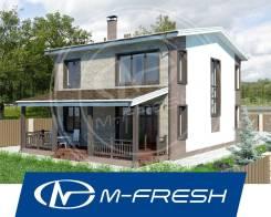 M-fresh Born Free New! (Посмотрите сейчас этот готовый проект дома! ). 200-300 кв. м., 2 этажа, 6 комнат, бетон