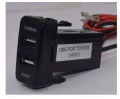 Розетки USB встраиваемые. Honda Mazda Mitsubishi Nissan Suzuki Toyota