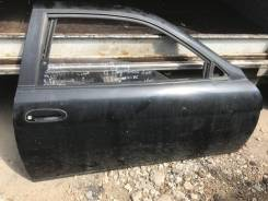 Дверь правая чёрная Toyota Soarer jzz30
