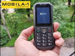 AGM M3. Новый, до 8 Гб, Черный, 3G, Dual-SIM, Защищенный, Кнопочный. Под заказ