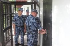 Инспектор службы безопасности. Исправительная колония №31. Чугуевка, улица Дзержинского 1