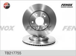 Диск тормозной | перед прав/лев | Fenox TB217755 TB217755