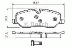 Колодки Тормозные Дисковые Передн Land Rover: Disc Bosch арт. 0986494147