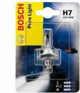 Лампа галогеновая BOSCH H7 PX26d 12V 55W 1шт. Bosch арт. 1987301012