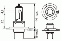 Лампа Xenon Blue H7 12v 55w Bosch арт. 1987302075