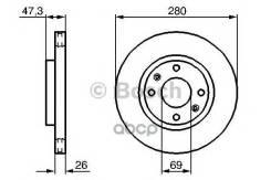 Тормозной диск Bosch арт. 0986479229