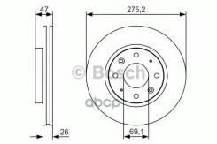 Диск Тормозной Premium 2, Передн, Kia: Cerato 1.6i Bosch арт. 0986479S28