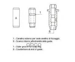 Направляющая втулка клапана Metelli арт. 01-S2911