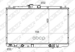 Радиатор Honda Inspire/Saber/Avancier J30a/Acura Tl 2.5/3.2 98-03 Sat арт. HD0005-UA
