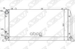 Радиатор Audi 80 92-96 1.6/1.8/2.0 Sat арт. SG-AD0001-MT