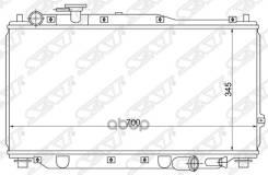 Радиатор Kia Spectra/Sephia/Shuma/Mentor 1.5/1.6 9 Sat арт. SGKI0001MT