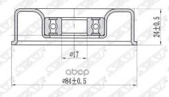 Ролик Натяжителя Кондиционера Infiniti Fx35/45/Nissan Fuga 04- Sat арт. ST-11955-AR010