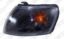 Габарит Toyota Caldina/Carina E 92-02 Черный Хрусталь Sat арт. ST-212-1580BL